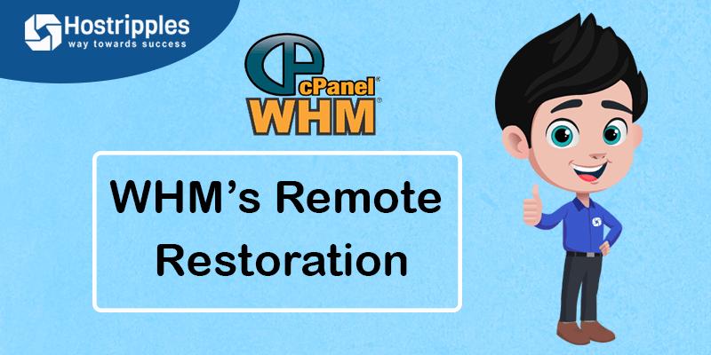 WHM's Remote Restoration