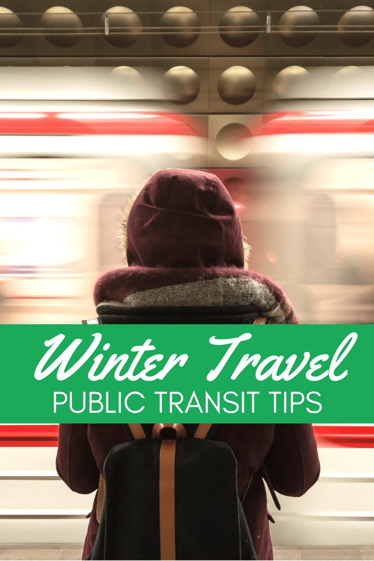 Plan ahead with these tips for using public transportation during the winter.