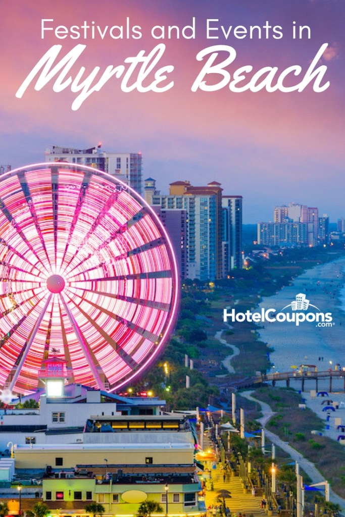 Festivals and Events in Myrtle Beach Pin