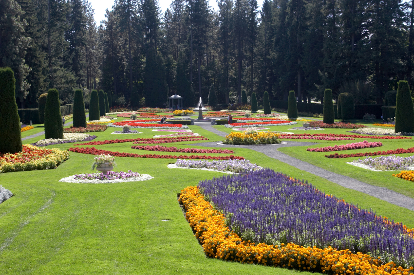 Manito Park in Spokane, WA