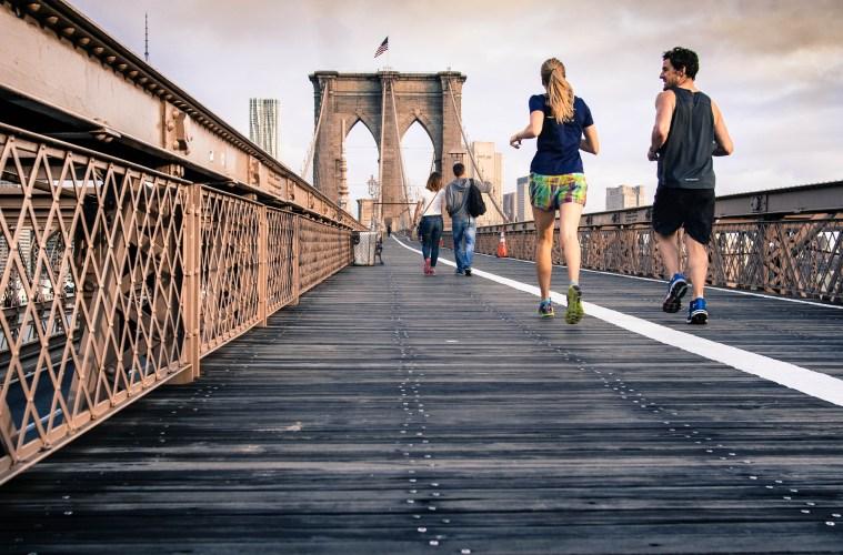 Running the Brooklyn Bridge