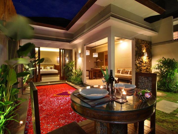 Maharaja Villas - Romantic Dinner Setup One Bedroom Pool Villa - Hoterip, Layanan Pesan Hotel Terbaik, Pesan dan Booking Hotel di Bali