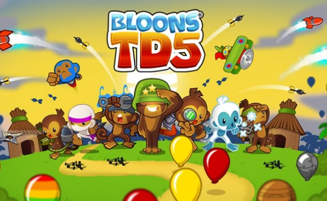 Bloons Tower Defense 5 Unblocked At School For Free