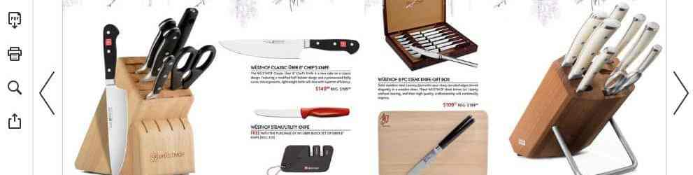 The House of Knives Christmas Gift Guide is Back!