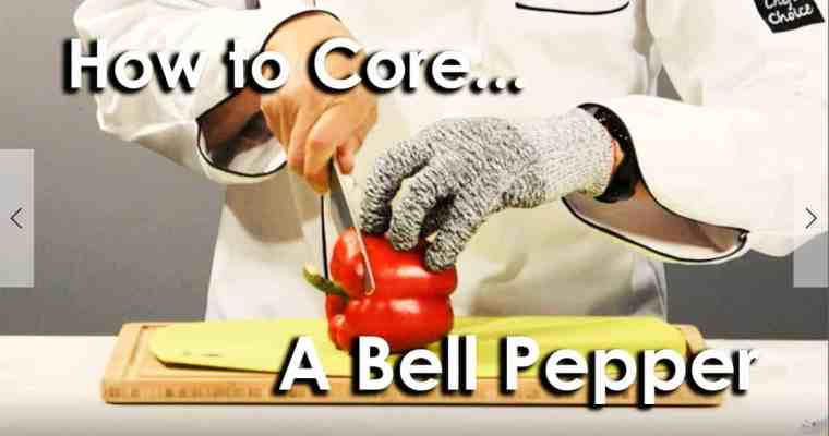 How to Core a Bell Pepper