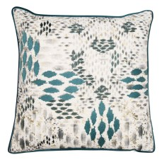 Malini Chopin Teal Cushion
