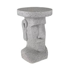 Easter Island Concrete Head Display Stand