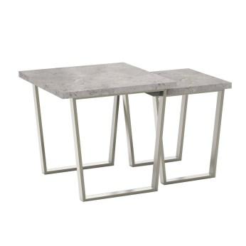 Caspian Grey Nest of Tables