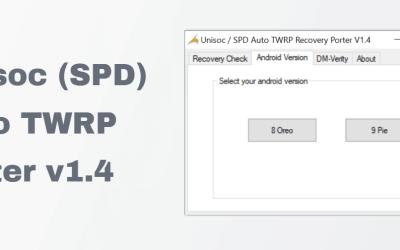 Auto TWRP porter; MTK v1.6 & Unisoc (SPD) v1.4