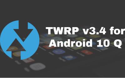Mediatek Auto TWRP porter v1.7; TWRP v3.4, Android 10 support