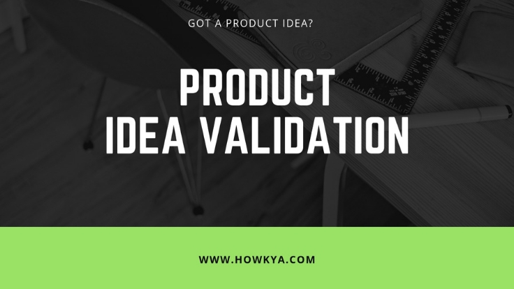 Product idea validation