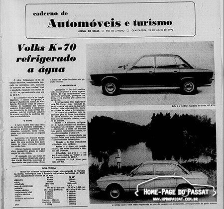 Matéria detalhada publicado pela mesmo jornal no dia 22 de julho de 1970.