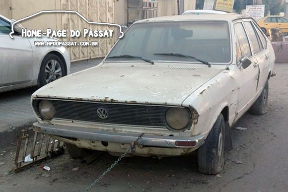 Passat 1978 no Iraque