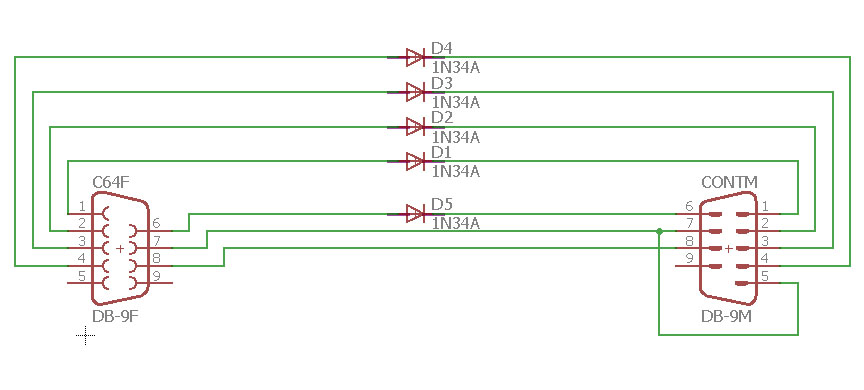 gendapter sch?ssl=1 c64 sega genesis joystick adapter dev blog sega genesis controller wire diagram at soozxer.org