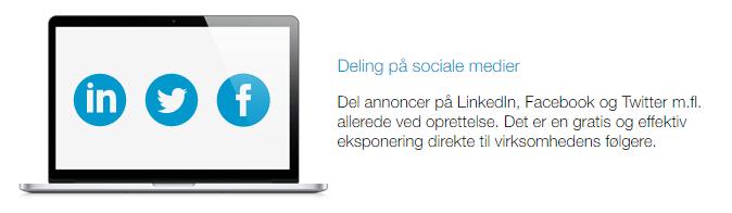 Rekrutteringssystem sociale medier