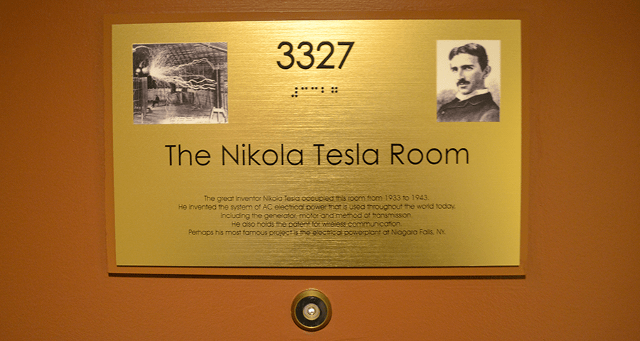 tesla 3327 room number