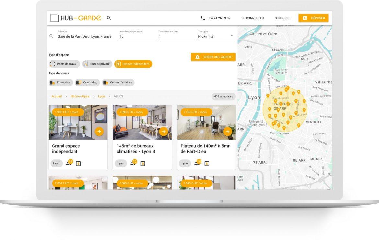 Hub-Grade, agent immobilier digital