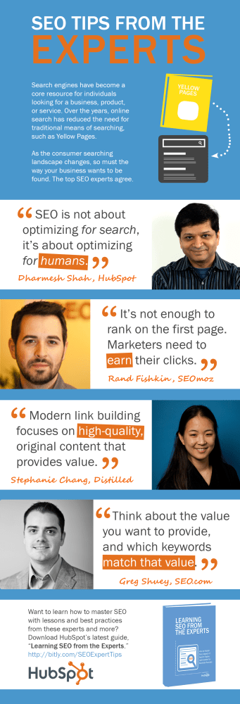 SEO tips from the experts!