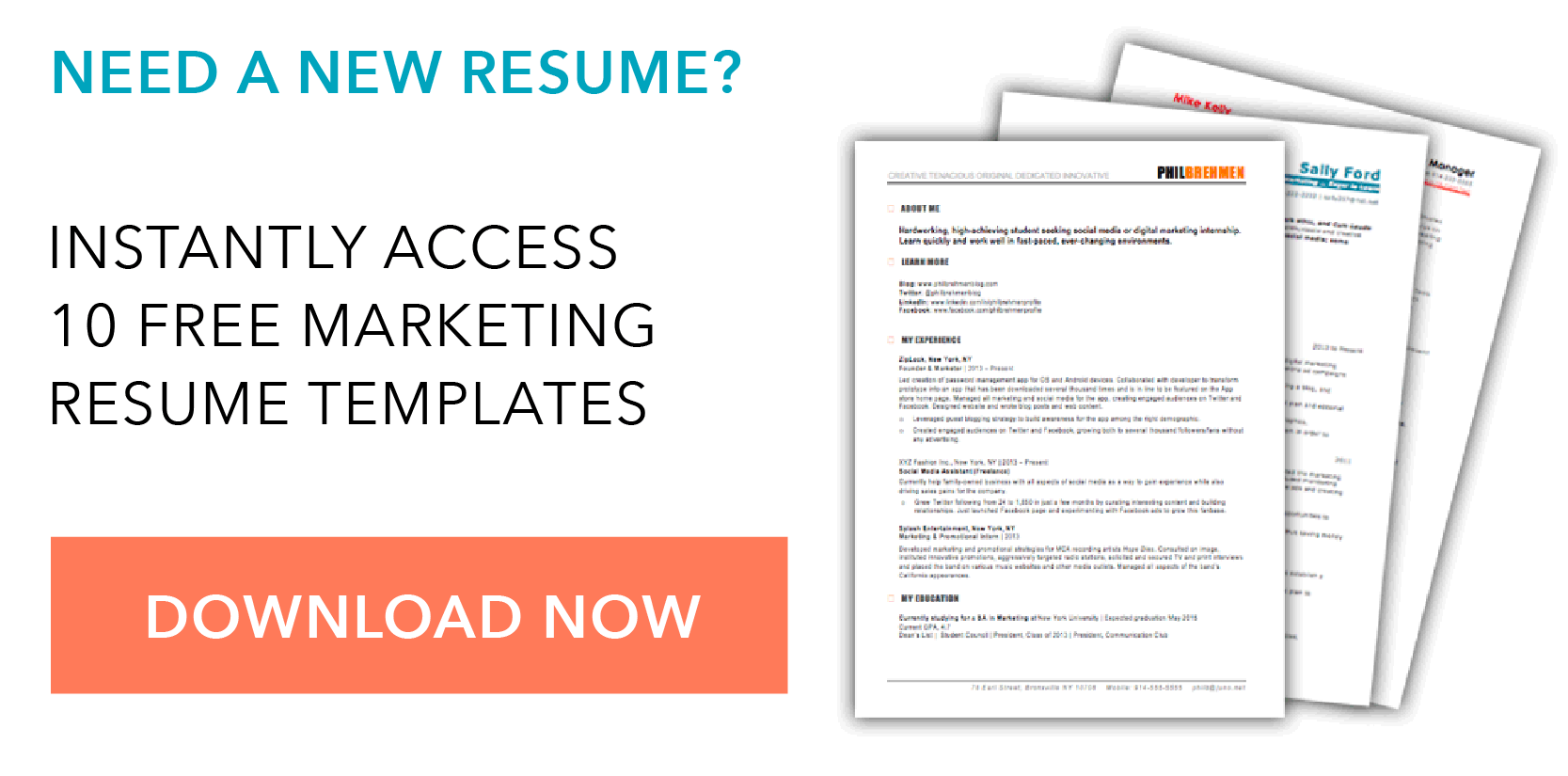 Free Resume Download Template 19 Free Resume Templates You Can Customize In Microsoft Word
