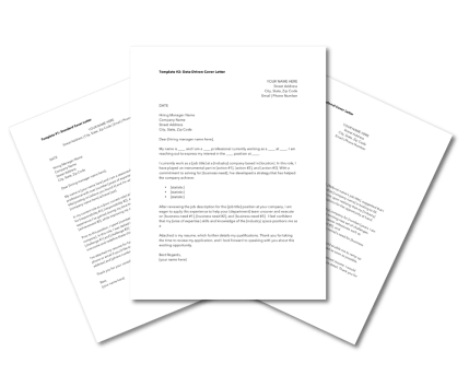 Cover Letter Templates
