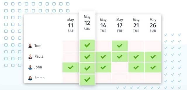 Doodle best scheduling app
