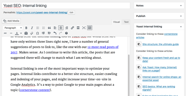 Yoast SEO must-have WordPress plugin