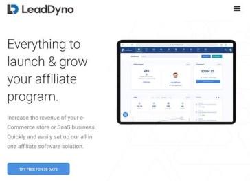 LeadDyno performance marketing tool