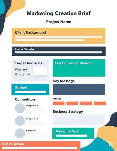 Simple Marketing Creative Brief Example