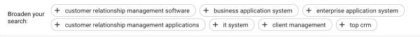 Google ads keyword planner gives keyword suggestions.