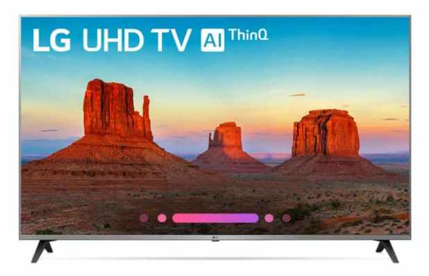LG UHD Smart TV with AIThinQ