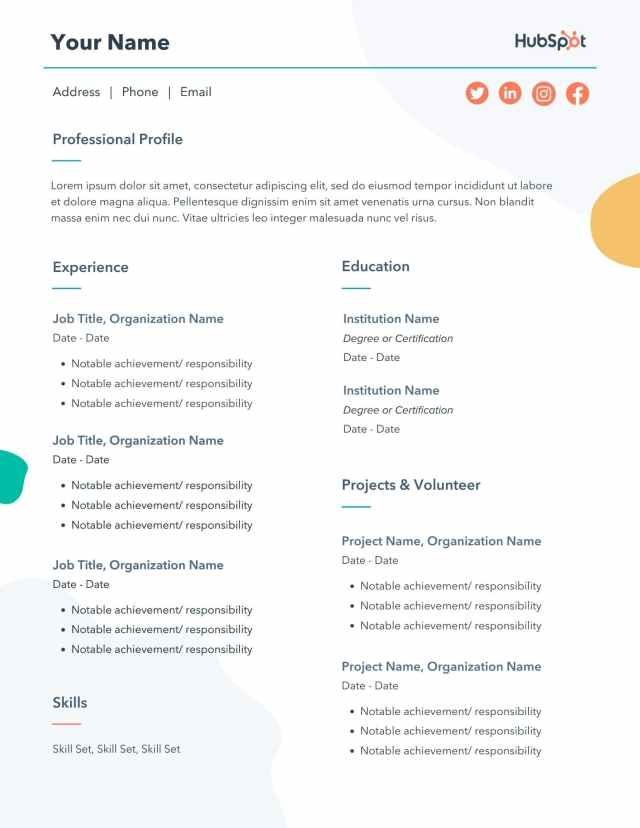 13 Free Resume Templates for Microsoft Word (& How to Make Your Own)