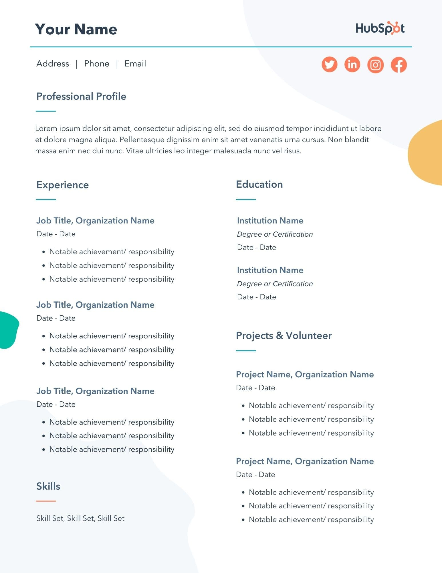 A resume is your introduction and. 29 Free Resume Templates For Microsoft Word How To Make Your Own