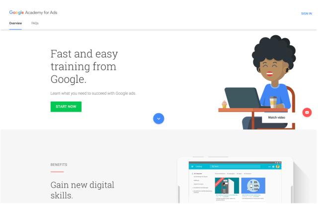 Google Academy example