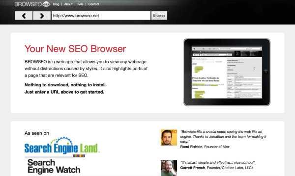 browseo free seo tool