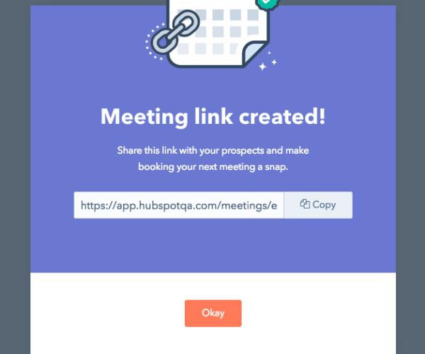 book a meeting conversion