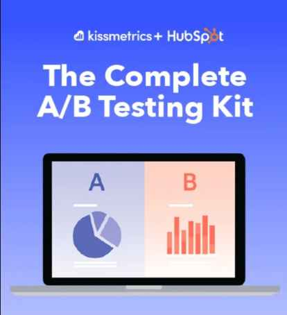free A/B testing kit cover page