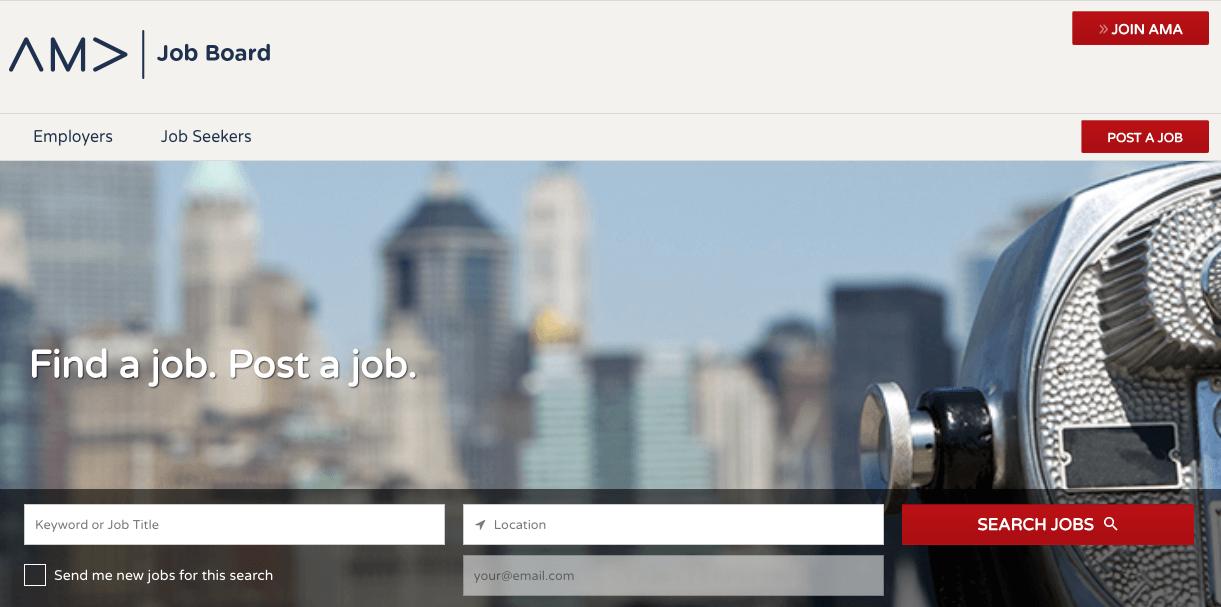 american-marketing-association-ama-job-site