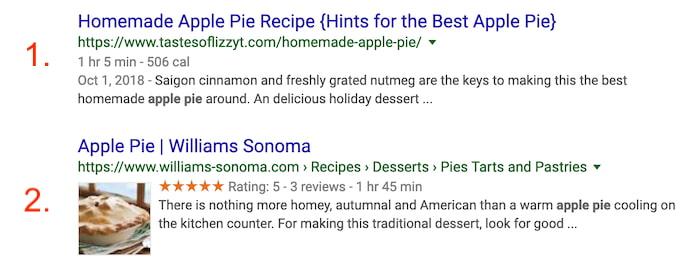 apple-pie-google-rich-snippet