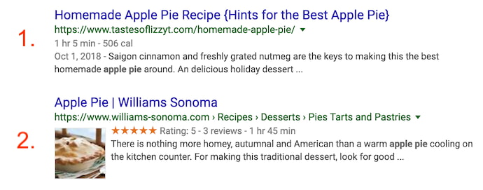 apple-pie-google-rich-snippet