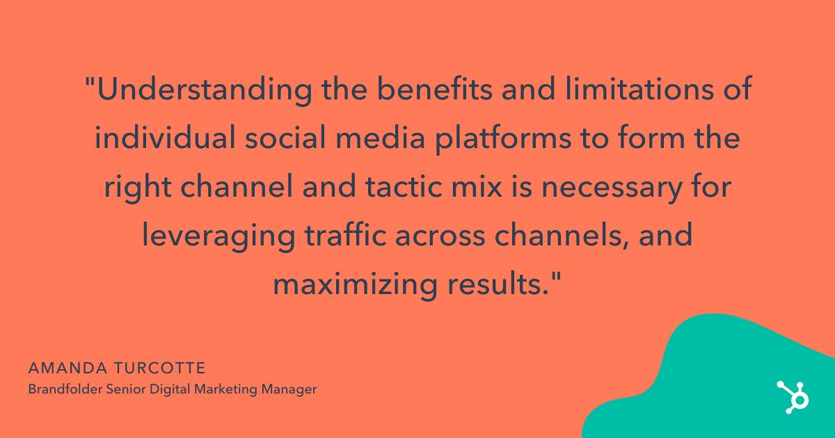 brandfolders tips on improving social media roi