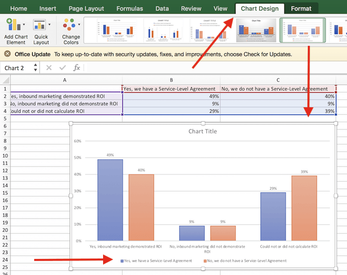Chart design options in excel also how to make  or graph with video tutorial rh blogbspot