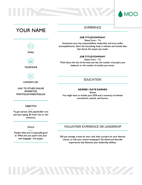 11 Free Resume Templates You Can Customise In Microsoft Phrase
