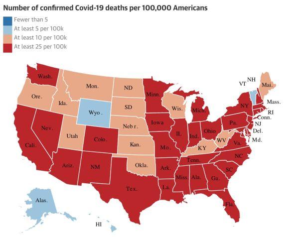 data visualization map