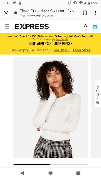 express-mobile-website-design