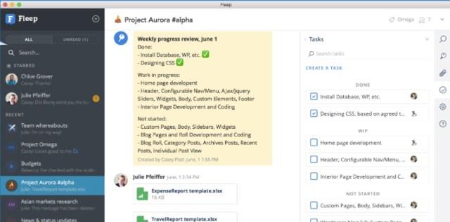 fleep messaging software