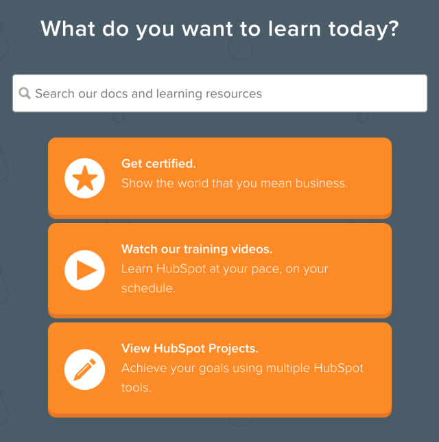 HubSpot Academy, a marketing tool for continuing education and learning