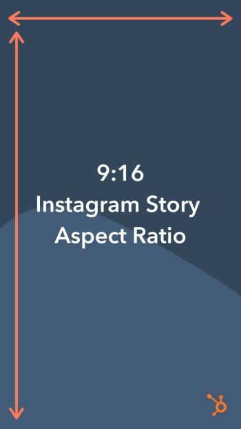 Instagram Story aspect ratio (9:16)