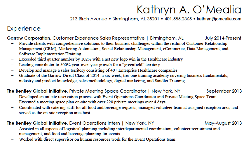 Beautiful How To Write A Marketing Resume Hiring Managers Will Notice Free