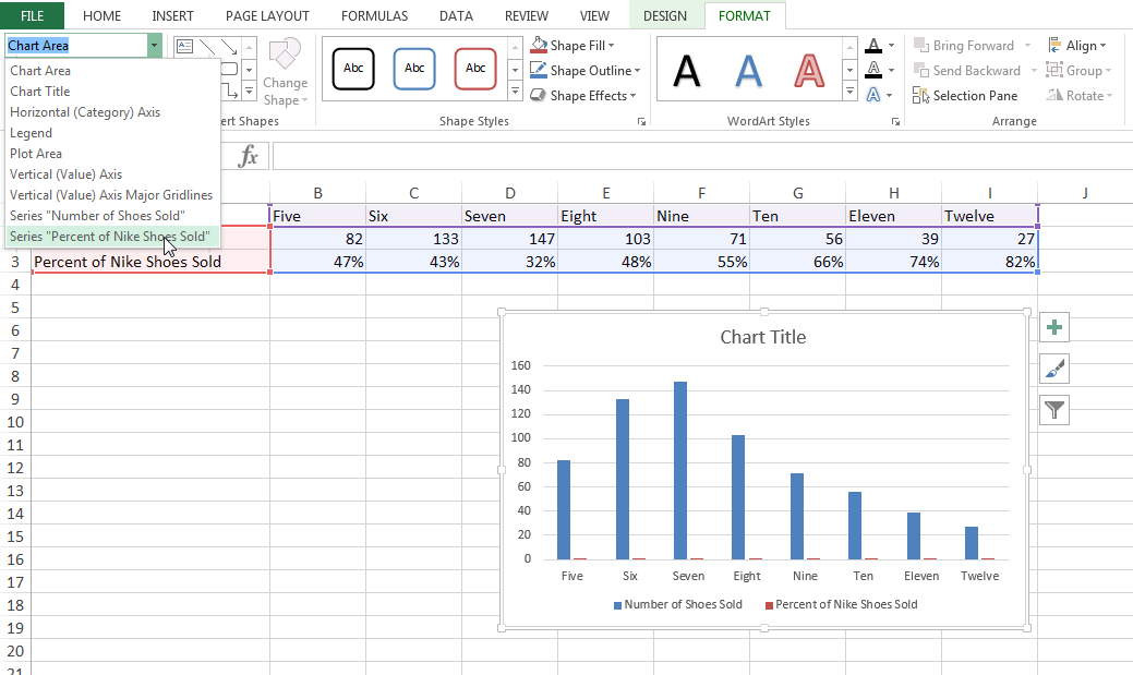 Switch this data series from your primary  axis to secondary also how add  an excel chart rh blogbspot
