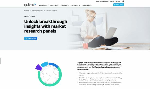 Qualtrics market research panels for consumer insights